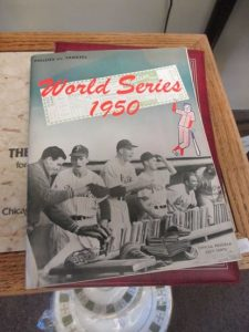 World Series program1950