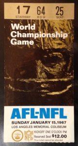 1967 Super Bowl Packers vs Chiefs 400