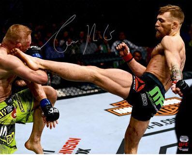 Autographed Conor McGregor photo