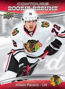 Artemi Pandariin 2015-16 Upper Deck Contours Hockey