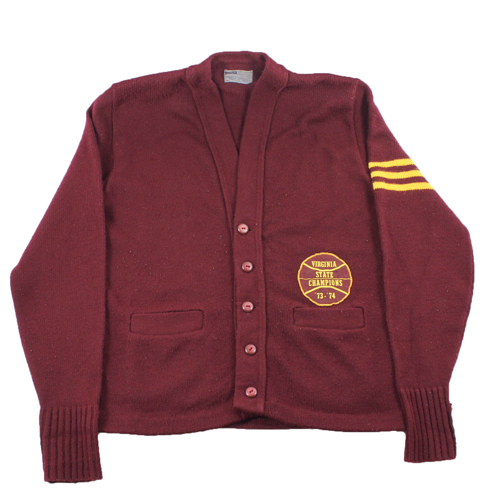 Moses Malone high school letterman sweater