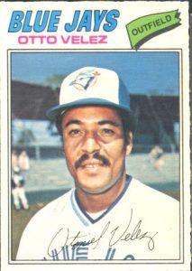 Otto Velez 1977 OPC