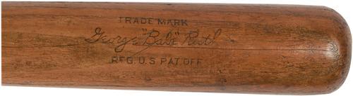 Babe Ruth game model bat