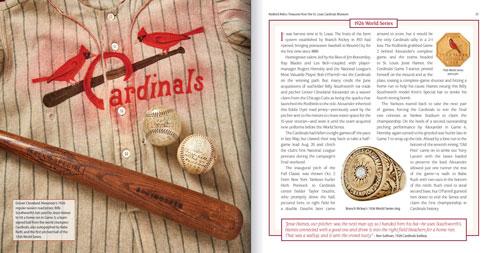 Redbird Relics book inside