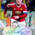 Topps Premier Gold Wayne Rooney Showcase autograph