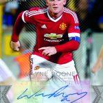 Topps Premier Gold Wayne Rooney Showcase autograph