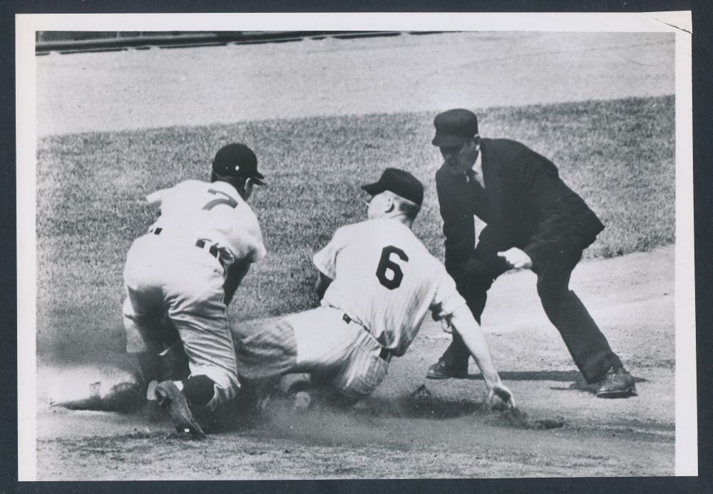 1951 Mickey Mantle number 6 photo