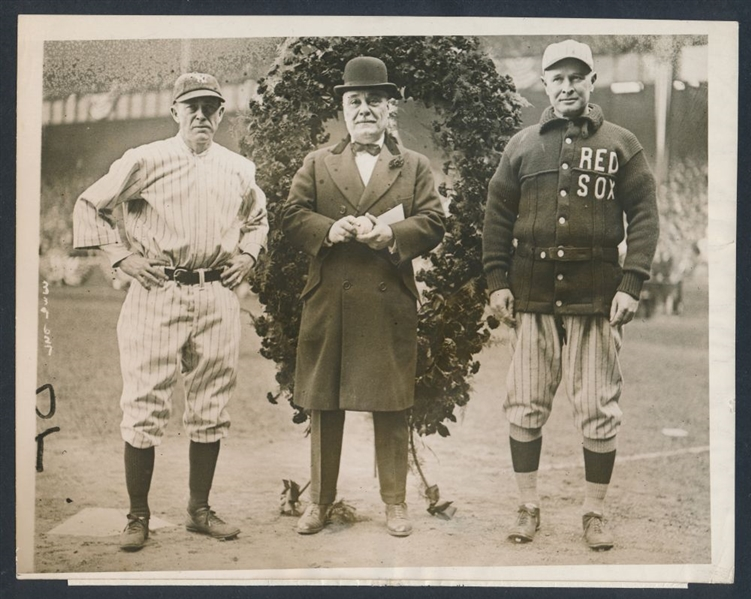 1923 Yankee Stadium dedication