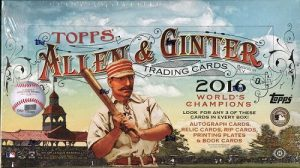 2016 Allen Ginter hobby box