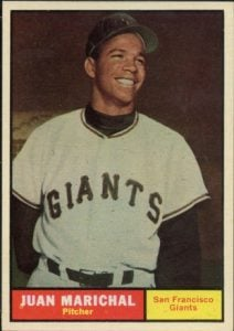Juan Marichal 1961 Topps