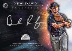Brendan Rodgers autograph 2016 Bowman Inception