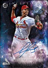 2016 Bowman Inception Alex Reyes autograph