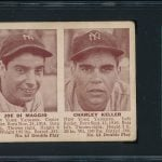 Image of 1941 Double Play DiMaggio card.