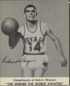 Richard Regan Kahns basketball card