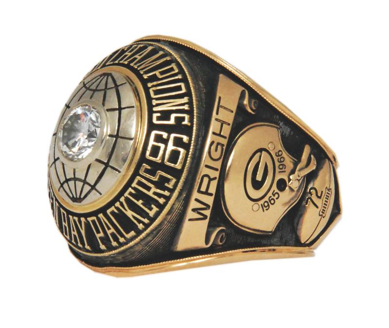 Super Bowl I ring Steve Wright
