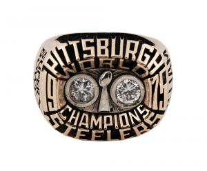 Steelers Super Bowl ring Joe Gilliam