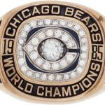 Super Bowl XX ring William Perry