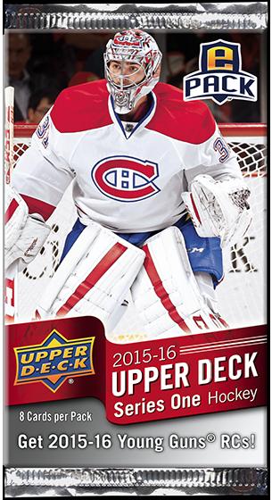 Upper Deck ePack 2015-16 Series One hockey