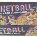 Topps 1975-76 basketball box