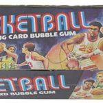 Topps 1975-76 basketball box