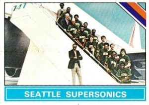 Seattle SuperSonics checklist Bill Russell 1975-76