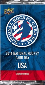 National Hockey Card Day 2016 pack