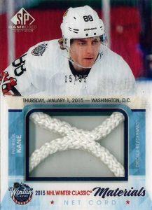 Patrick Kane Upper Deck NHL Game Used net cord