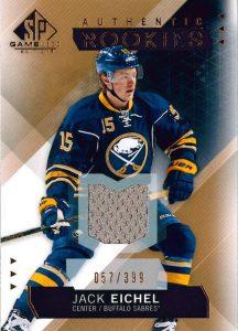 2015-16 Upper Deck Game Used Hockey Jack Eichel
