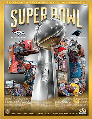 Super Bowl 50 program