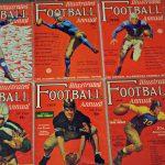 Vintage College Football Illustrated magazines
