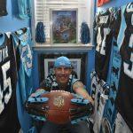 Carolina Panthers fan Pat LeClair