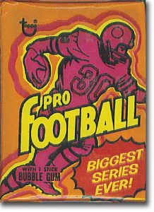 1973 Topps Football wax pack
