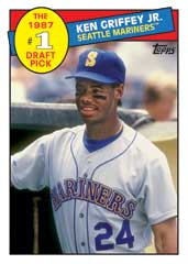 First Round Draft Pick Ken Griffey Jr 2016 Topps Archives