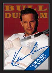 2016 Topps Archives Kevin Costner autograph