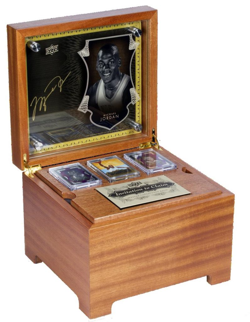 2015 Upper Deck All-Time Greats Master Collection box
