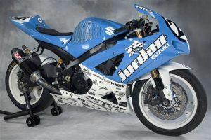 Michael Jordan Motorsports 2008 Suzuki GSX-R1000 AMA Superstock Motorcycle