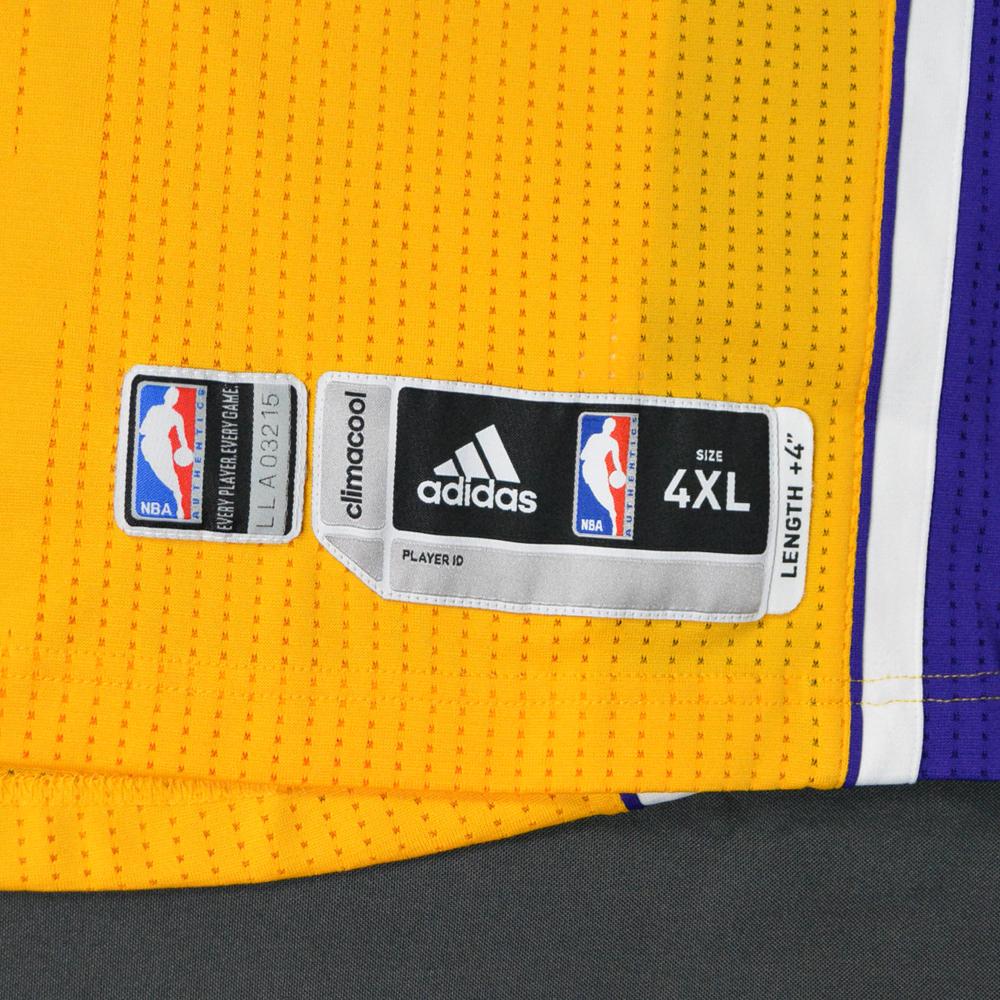 MeiGray-NBA tag on Kobe Bryant jersey