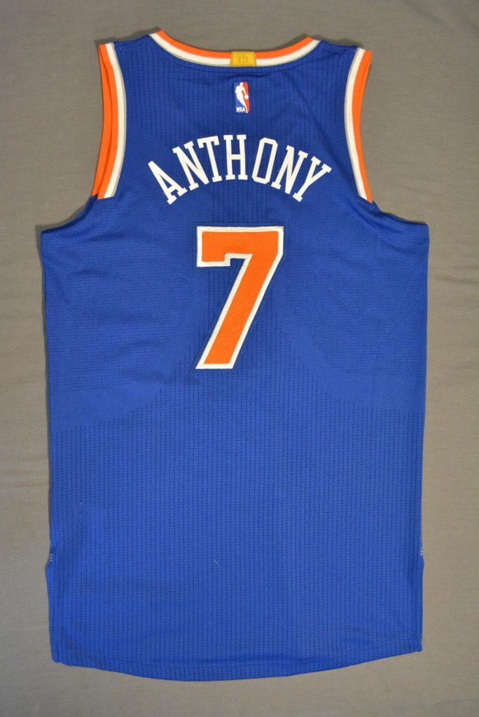 Carmelo Anthony Knicks jersey