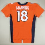 Game worn Peyton Manning jersey Broncos