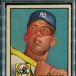 Mickey Mantle 1952 Topps PSA 7.5