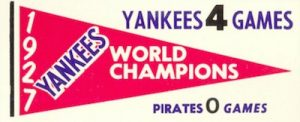 1961-Fleer-Baseball-Greats-Pennant-Yankees