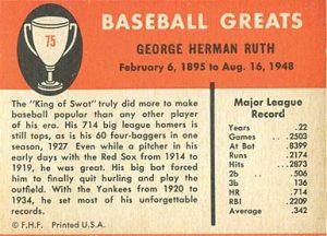 1961-Fleer-Baseball-Greats-Babe-Ruth-back