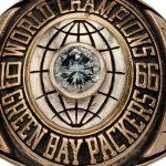 Super Bowl I ring Jerry Kramer