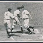 Lou Gehrig home run photo 1937