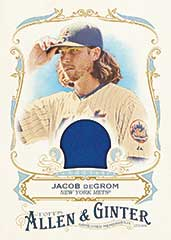 2016 Topps Allen Ginter Jacob deGrom relic