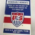 2015 USA National Soccer team trading cards