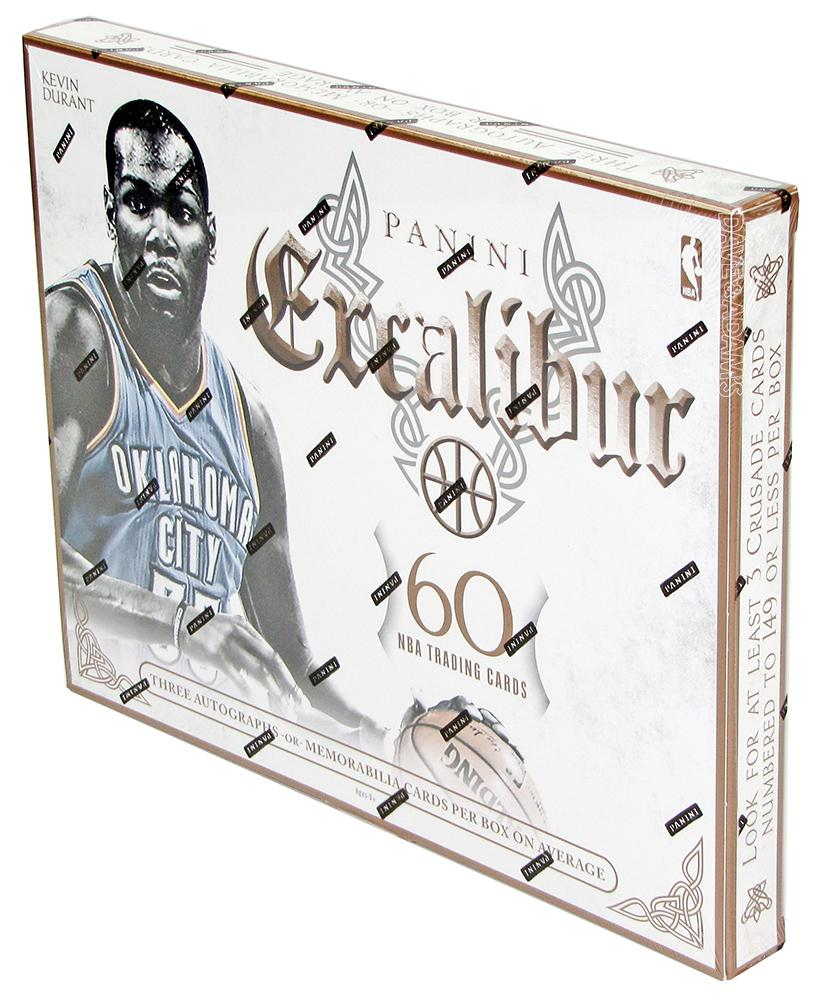 Panini Excalibur box 2015-16 Kevin Durant