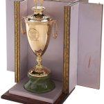 Kentucky Derby owners trophy 1985 Spend a Buck