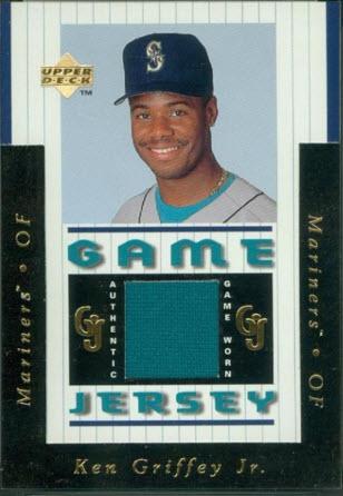Ken Griffey Jr 1997 Upper Deck Game Jersey