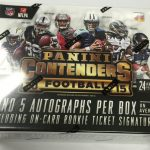 2015 Playoff Contenders Football Hobby Box